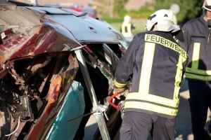 Feuerwehr Quenstedt Übung 2011
